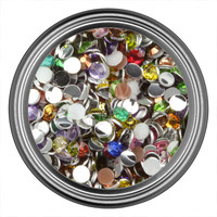 Regular Round Rhinestone