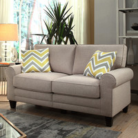 "Serta at Home RTA Copenhagen 61"" Loveseat & Reviews 