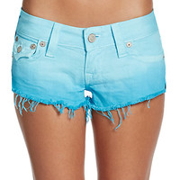 True Religion - Joey Ombré Denim Shorts