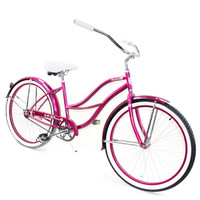 Ladies Beach Cruiser Paraiso Pink