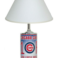 MLB License Plate Lamp - Chicago Cubs #1 Fan