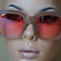 Oversized Big TILDA Hippie AUDREY Fashion Wayfarer Jackie O Designer Sunglasses
