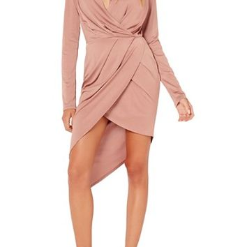 Missguided Wrap Dress | Nordstrom