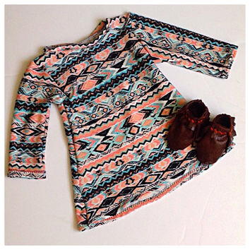 Baby clothes, baby girl clothes, tribal baby clothes