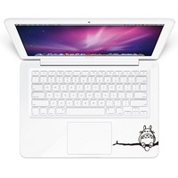 Lonely ToToRo Front Decal Sticker Humor Handmade Partial Art Skin Protector for Apple Macbook