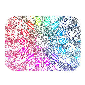 "Monika Strigel ""Rainbow Dots"" Place Mat"