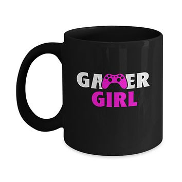 Gamer Girl Video Game Player Cool Coffee Mug