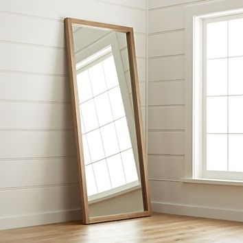 Linea II Floor Mirror