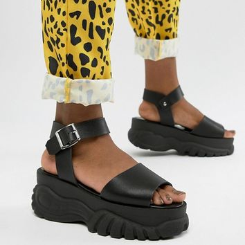 ASOS DESIGN Foxie chunky flatform sandals at asos.com