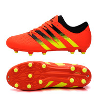 Unisex Adult FG Soccer Boots Firm Ground Football Shoes Training Boots Long Spikes Botas De Futbol For All Season Size 38-44
