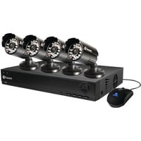 Swann 1000 4-channel D1 Dvr With 500gb Hdd & 4 Cameras At 600tvl