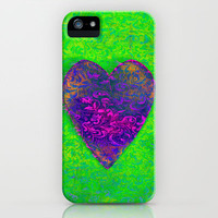 Blueberry Heart iPhone Case by Vicki Mlady | Society6