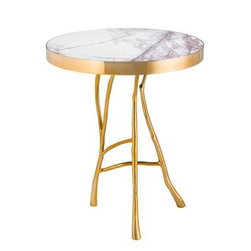 Gold Side Table | Eichholtz Veritas