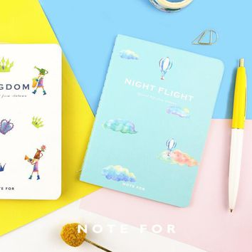 Magic Time Soft Cover A6 Notebook Diary Book Exercise Composition Binding Note Notepad Escolar Papelaria Gift Stationery
