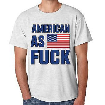 American As F**k Men's T-Shirt