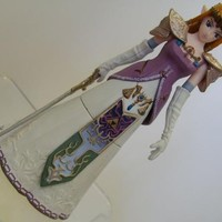 Legend of Zelda Twilight Princess Rare Trading Figure Princess Zelda