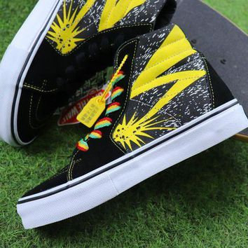 VON3TL Bad Brains x Vans Vault Sk8 Hi LX Casual Shoes Plate Shoes