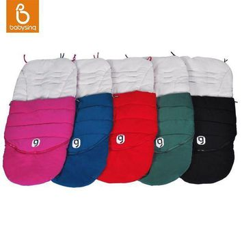 Anglebay Baby Stroller Sleep Sack Cotton Warm Sleeping Bag Winter Thick Footmuff Stroller Accessories