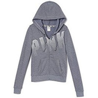 Victoria's Secret PINK Full Zipper Hoodie Sweatshirt