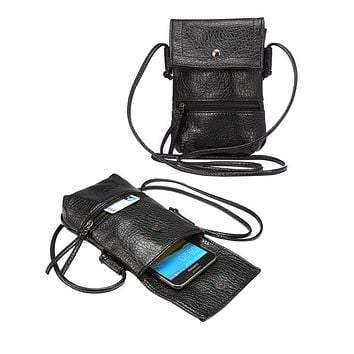 Universal Stylish Shoulder Oblique Cross Package Multifunctional 6.3 inch Mobile Phone Bag Hanging Neck Wallet Outdoor Phone Bag