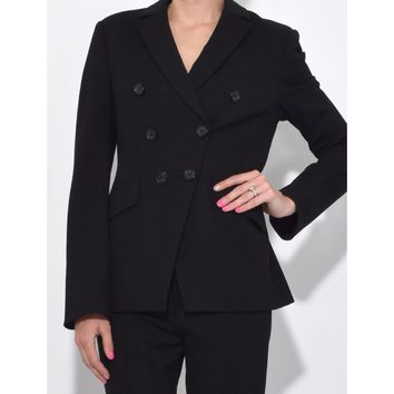 Dorothee Schumacher Emotional Essence Blazer - Pure Black Sleeve Length Blazer