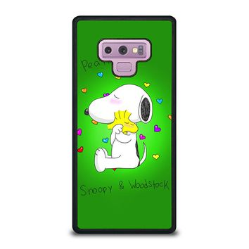 PEANUTS SNOOPY AND WOODSTOCK Samsung Galaxy Note 9 Case