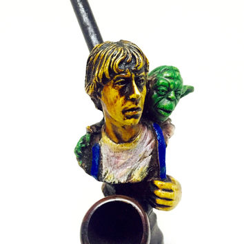 Resin Pipe - Luke & Yoda