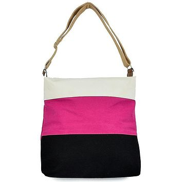 Women Messenger Bags Beach Canvas Fashion Stripes Handbags Ladies Shoulder Bag Female Totes Casual Bolsa Shopping Crossbody Bags