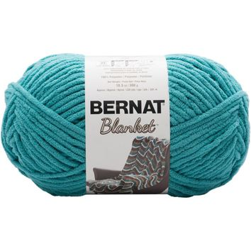 Bernat Blanket Yarn Coastal Collection Aquatic Green 300 Gram Skeins