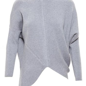 STELLA MCCARTNEY | Asymmetric Wool Jumper | brownsfashion.com | The Finest Edit of Luxury Fashion | Clothes, Shoes, Bags and Accessories for Men & Women