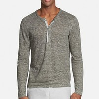 Men's Vince Trim Fit Long Sleeve Henley