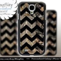 Camo Black Chevron Galaxy S4 case S5 Real Tree Camo Deer Personalized Monogram Samsung Galaxy S3 Case Note 2 3 Cover