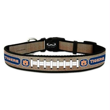 DCCKT9W Auburn Tigers Reflective Football Pet Collar
