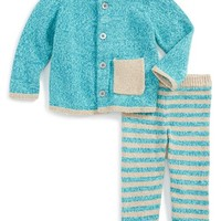 Infant Boy's Tea Collection 'Cerro Bonete' Pima Cotton Sweater & Pants