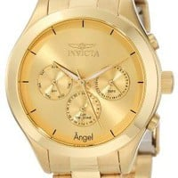Invicta Angel Gold-Tone Stainless Steel Watch