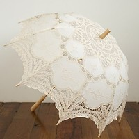 Free People Vintage Parasol Umbrella