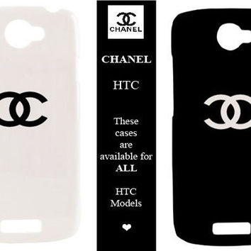 HTC Case - Chanel Fashion Design - available for htc one s, htc amaze 4 g,htc sensation xl, htc desire hd, htc desire s and more