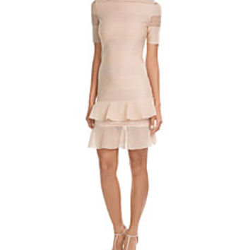 Alexander McQueen - Bandage Dress with Silk