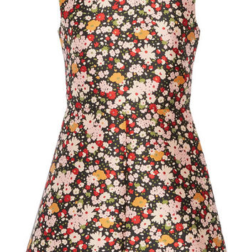 REDValentino - Chelsea floral-jacquard mini dress