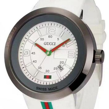 GUCCI Fashion Watch Ladies Men Watch Little Ltaly Stylish Watch White G-YF-GZYFBY