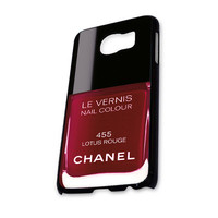 Chanel Lotus Rouge Nail Polish Samsung Galaxy S6 Case