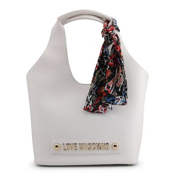 Love Moschino White Shoulder Bag
