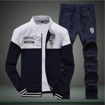 Men's Sportswear suites Jacket+Pants
