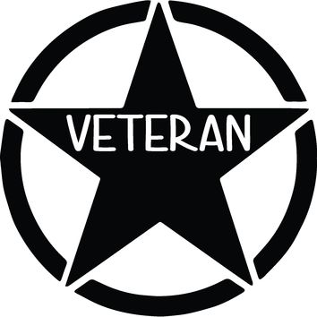 United States Army Veteran Vinyl Graphic Decal