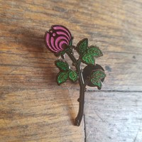 "The Fuchsia ""Rosebud Nectar"" Glitter Limited Edition Bassnectar Hat Pin"
