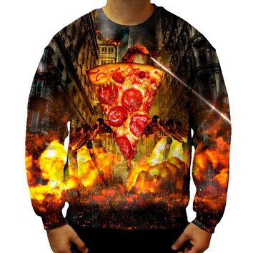 Evil Pizza Sweatshirt