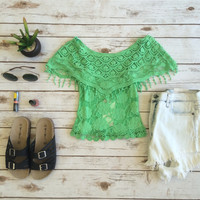 Lime Squeeze Top