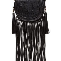 Glory Daze Fringed Saddle Bag