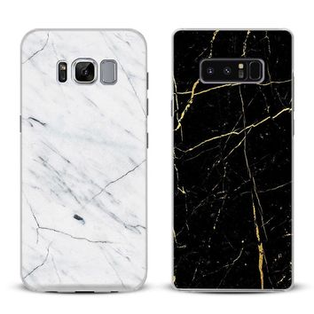 Marble Pattern beautiful Phone Case Cover Shell For Samsung Galaxy S4 S5 S6 S7 Edge S8 Plus Note 8 2 3 4 5 A5 A7 J5 2016 J7 2017