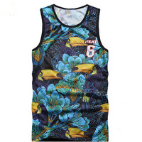 Tank Top Men  Clothing and Fitness Mens Sleeveless  Vests Cotton Singlets casual  Tops